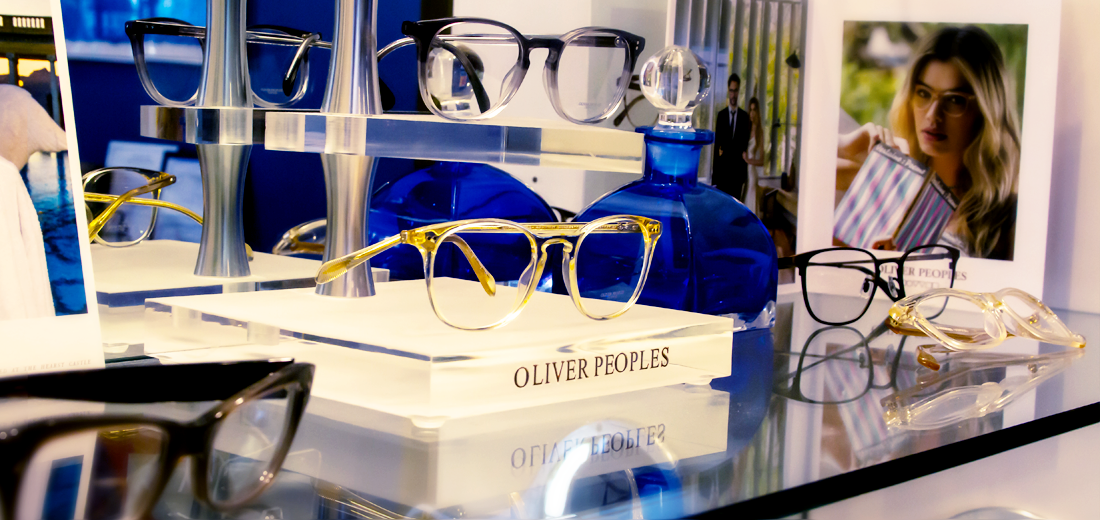 Oliver Peoples fashion eye ware